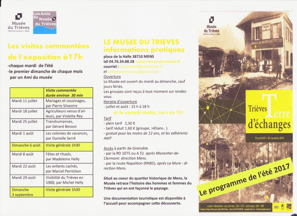 flyer animations été 2017 site internet