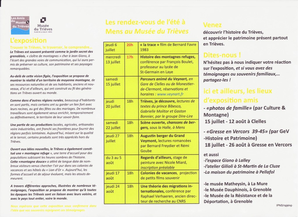flyer animations été 2017 verso site internet